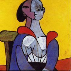 ピカソ Pablo Picasso, Creative Icon, Love Art, Art Inspo, Watercolor Paintings, Modern Art, Abstract, Disney Characters, Bubble