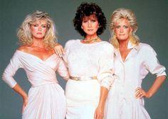 Joan Van Ark, Michele Lee, Donna Mills, Knots Landing, White Dress, American, Tv, Dresses, Fashion