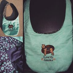 Hey, I found this really awesome Etsy listing at https://www.etsy.com/listing/244353011/embroidered-i-love-my-airedale-hobo-bag