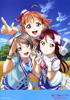 """Sakurauchi Riko"" ""Takami Chika"" ""Watanabe You"""