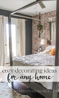 Cozy decorating ideas for any home Gorgeous Bedrooms, Decor, Home Buying, Cozy Decor, Master Bedroom Update, Creative Home Decor, Cozy House, Bedroom Decor, Master Bedroom Inspiration