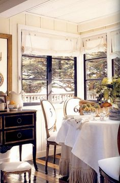 French style dining room.