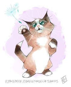Dandelion kitty.