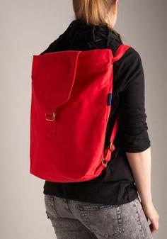 Canvassing Backpack in Neighborhood, #ModCloth