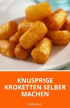 Knusprige Kroketten selber machen   eatsmarter.de