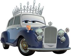 Pixars World of Cars-a little fun from Pixar wishing a Happy Birthday to Queen Elizabeth Disney Pixar Cars, Old Rolls Royce, Brave Little Toaster, Cars Characters, Derby Cars, Car Drawings, Lightning Mcqueen, Cool Cars, Classic Cars
