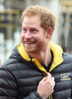 Britain's Prince Harry, Patron of the Invictus Games Foundation, unveils the team selected to represent the UK at the Invictus Games Orlando 2016 during a launch event at Buckingham Palace in central London on April 6, 2016.