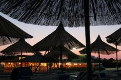 Sunset on the beach.  #Manfredonia #Puglia