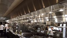 Cactus Club is a chain of upscale casual restaurants based in Vancouver, BC.  When they were planning their first eastern Canadian location at First Canadian Place in Toronto they came to Halton, their regular supplier, for the kitchen exhaust equipment package.