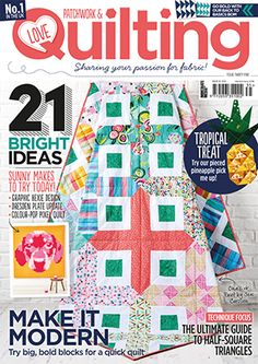 Save and print your FREE scallops template download to create amazing quilts! We also have a real treat for scallop lovers coming up in issue 14…