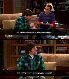 Howard and Sheldon | Big Bang Theory | Harry Potter