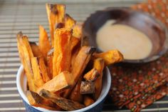 Super crispy sweet potato fries are totally possible with a few tricks! Let me show you how to make these Whole 30 approved goodies for your next dinner!