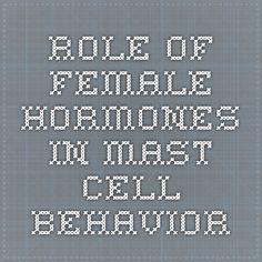 Front. Immunol., 19 June 2012 | doi: 10.3389/fimmu.2012.00169 Role of female sex hormones, estradiol and progesterone, in mast cell behavior Oliver Zierau1, Ana C. Zenclussen2 and Federico Jensen2*