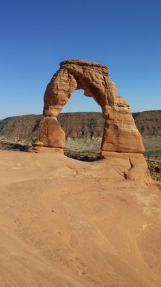 Took a hike to Delicate Arch in Arches National Park this weekend. It was beautiful.