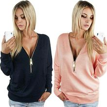 Like and Share if you want this  2016 New women T Shirt fashion V-Neck long sleeve autumn women tops zipper sexy t-shirt blusas femininas 2016 hot sale TSTS1     Tag a friend who would love this!     FREE Shipping Worldwide     #Style #Fashion #Clothing    Buy one here---> http://www.alifashionmarket.com/products/2016-new-women-t-shirt-fashion-v-neck-long-sleeve-autumn-women-tops-zipper-sexy-t-shirt-blusas-femininas-2016-hot-sale-tsts1/