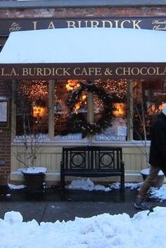 Inspiration for the Chocoholic Cafe