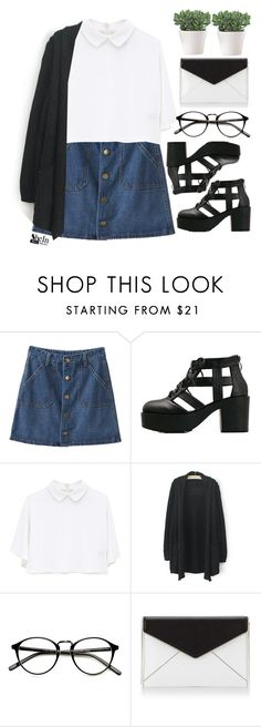 """""""#SheIn"""" by credentovideos ❤ liked on Polyvore featuring Rebecca Minkoff"""