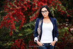 Bentonville arkansas model fashion photography red berries