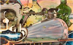 """Twentieth Century British Art by David Evans: """"Pot au Fer (British Steel)"""" Watercolour Painting, Painting Art, British Steel, David Evans, The Twenties, Literature, Abstract Art, Fine Art, Modern"""