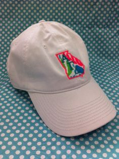 State Greek Cap- Celebrate your favorite state and greek letters with our State Applique Greek Hat.