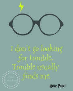Free Printable - Harry Potter- this needs to go into my grandson's room.