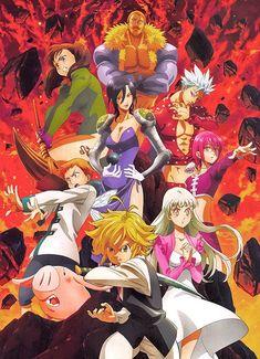 Manga Anime, Otaku Anime, Anime Naruto, All Seven Deadly Sins, 7 Deadly Sins, Weekly Shonen Magazine, Meliodas Vs, Desenhos Tim Burton, Animé Fan Art