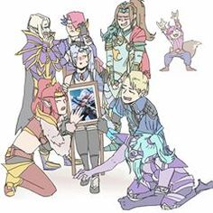 Do y'all need help? Guardian Of The Moon, Mobile Legend Wallpaper, Anime Neko, Mobile Legends, Aesthetic Anime, Cute Art, All Art, Bang Bang, Princess Zelda