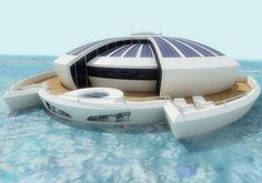 Solar Floating Resort is a futuristic and luxurious concept design by Italian industrial designer Michele Puzzolante.