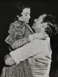 Gone with the Wind - Clark Gable and Vivien Leigh