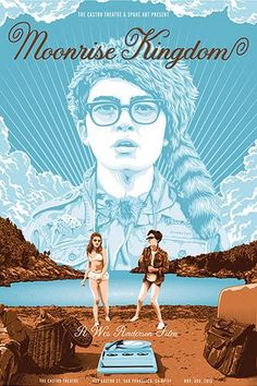 Wes Anderson-Inspired Art Will Brighten Up Your Day (& Your Walls) #refinery29  http://www.refinery29.com/2013/11/57170/wes-anderson-art-spoke-gallery#slide-2  Tracie Ching Moonrise Kingdom, $40, available at Spoke Art.