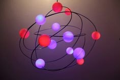 The milky galaxy is a light installation and by responsivelight