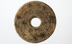 Bone spindle whorl. Object: whorl (diameter: 3.6 cm) Dating: early medieval (about 6/7 th century AD). Germany