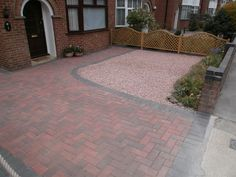after - Replaced Garden into a large driveway