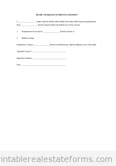 Sample Printable Disclosure Transfer To Third Party  Form