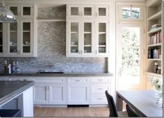Things That Inspire: Glass front cabinets – form over function?