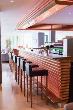 HELDenhaft entspannen in unserer Hotelbar Conference Room, Bar, Table, Furniture, Home Decor, Decoration Home, Room Decor, Tables, Home Furnishings