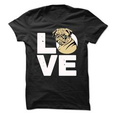 Love Pug, Order HERE: https://www.sunfrog.com/Pets/Love-Pug-71282408-Guys.html?id=41088#puglovers #christmasgifts #xmasgifts #ilovemypugs