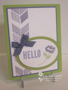 Oh, Hello - February Class to Go - Flowerbug's Inkspot