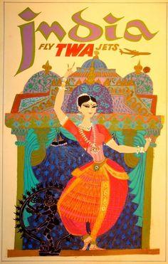 TWA to India ~ David Klein