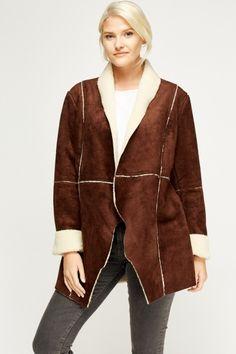 Teddy Bear Contrast Jacket £5