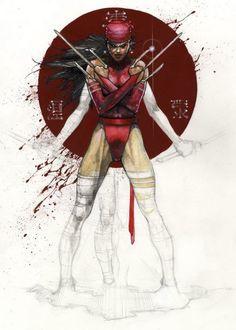 Elektra by Simone Bianchi