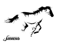 Horse Tatto by Adiago.deviantart.com on @DeviantArt