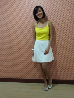 [Uber OOTD:Apr30-2014] Bagets lang ang peg! Top from Apartment 8, watch by Technomarine