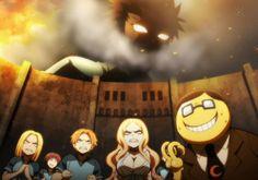 ANSATSU KYOUSHITSU/ASSASSINATION CLASSROOM, Second Season, Episode 1 Parody Attack on Titan