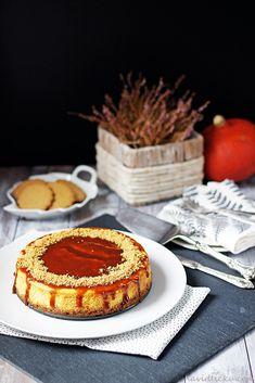 Na vidličku: Dýňový cheesecake s karamelovou polevou