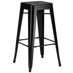Trattoria Bar Stool in Black