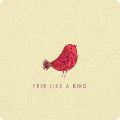 Divorce Party Invitations - Free Like A Bird #Divorce #Party Invitation
