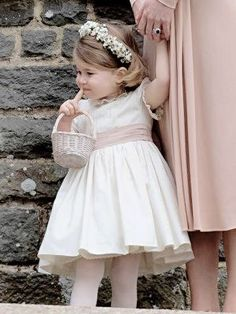 Charlotte at the wedding of aunt Pippa
