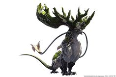 Forest monster concept art 62 ideas for 2019 Forest Creatures, Alien Creatures, Magical Creatures, Monster Concept Art, Monster Art, Fantasy Beasts, Fantasy Art, Final Fantasy, Creature Feature