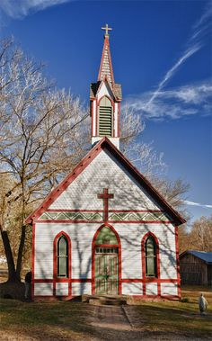 Historic Billie Creek Village Church, Rockville, Indiana